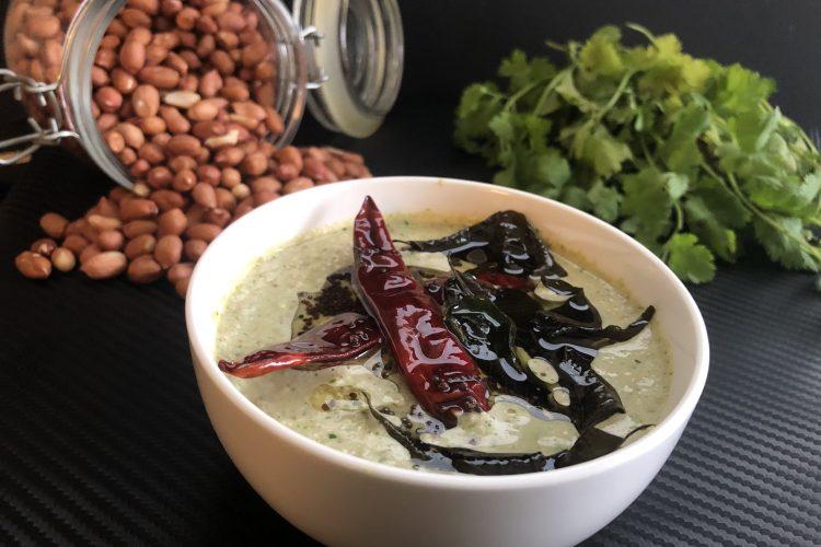 coriander peanut chutney
