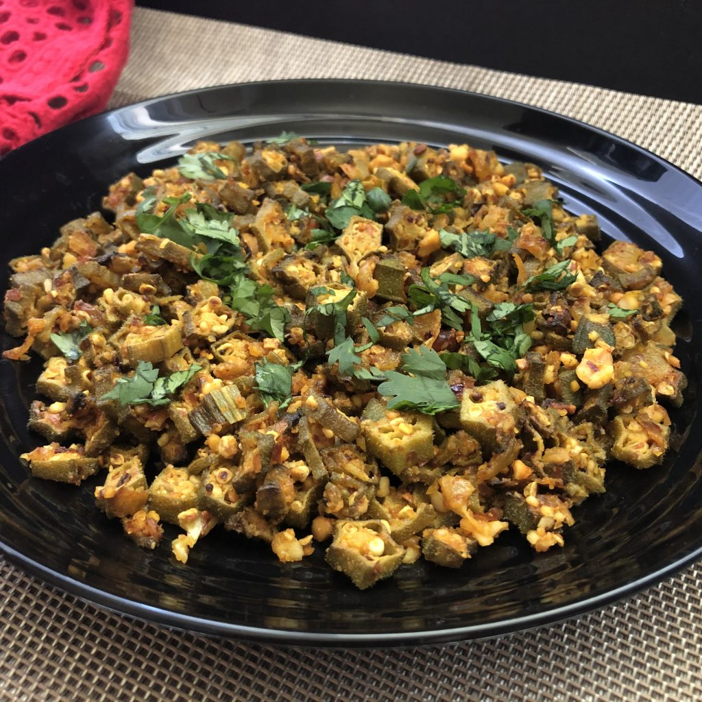Bhindi Fry Is Ready
