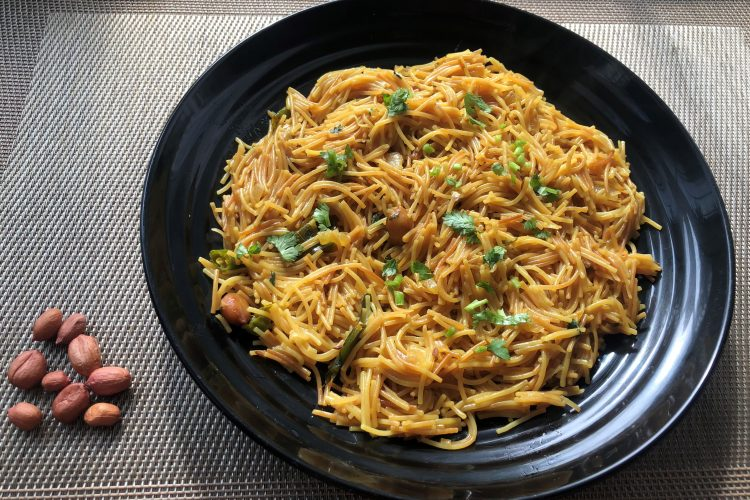 semiya upma is ready to serve