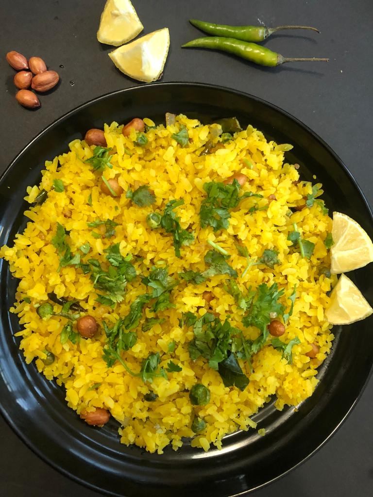 Poha is ready
