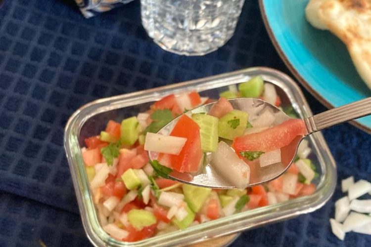 Kachumber Salad is ready