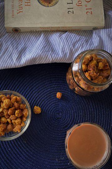 Baked Masala Peanuts