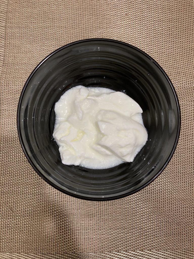 Add yogurt to a bowl